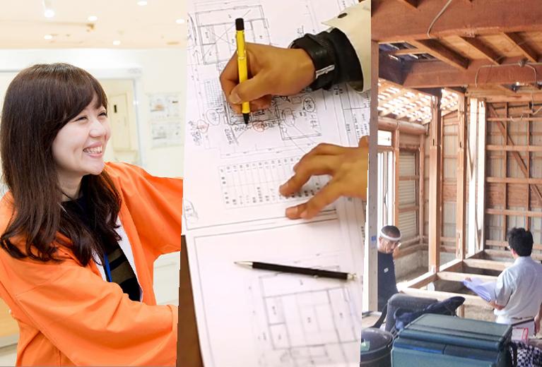 営業、企画、施工と一貫した案件を多数担当できる!