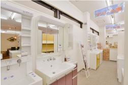 リフォームプライス八王子店洗面コーナー