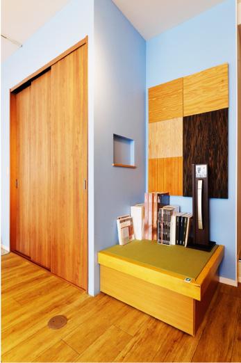ちょっとしたものが参考になる 床材や棚、雑貨などすべてが暮らしのアイデアにインテリアだけでなく、色のバランスなどの参考にもしていただけます。