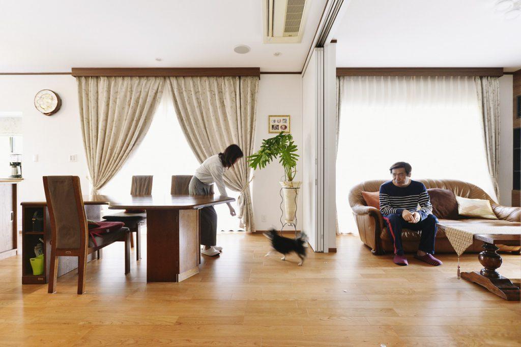 【LD】 一続きの空間は、ご家族の時間もつなげる大切な空間に