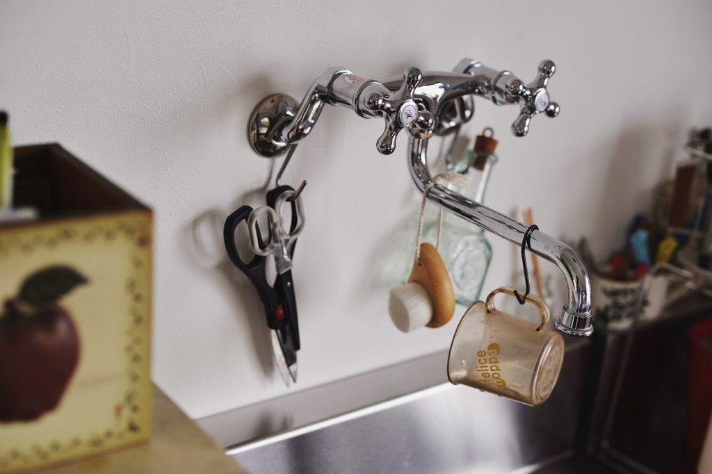 【水栓金具】水栓も奥様お気に入り。