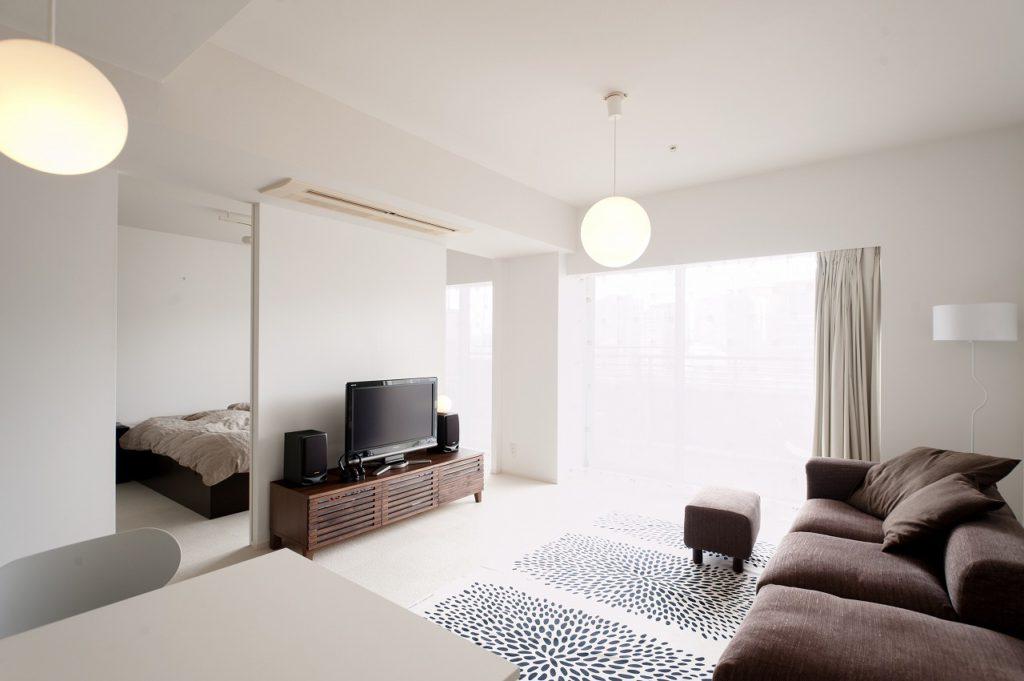 【LDK】 白の空間にPanasonicの MODIFYシリーズの照明が映えます