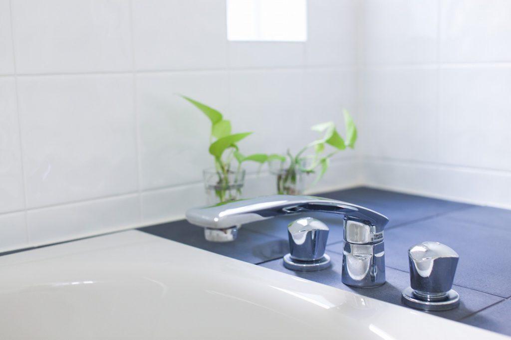 【水栓金具】 ホテルライクなお洒落な水栓