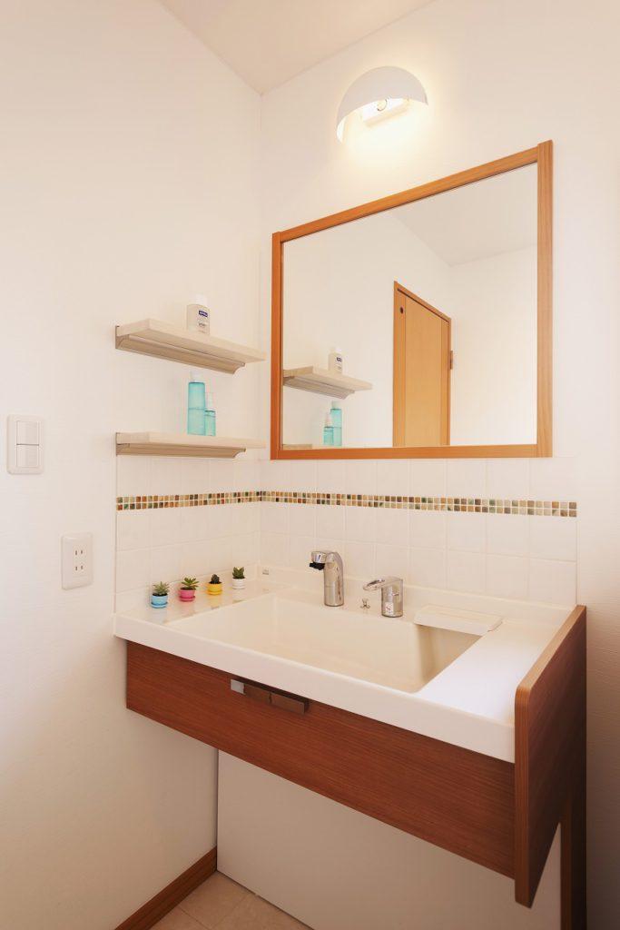洗面所の施工事例28