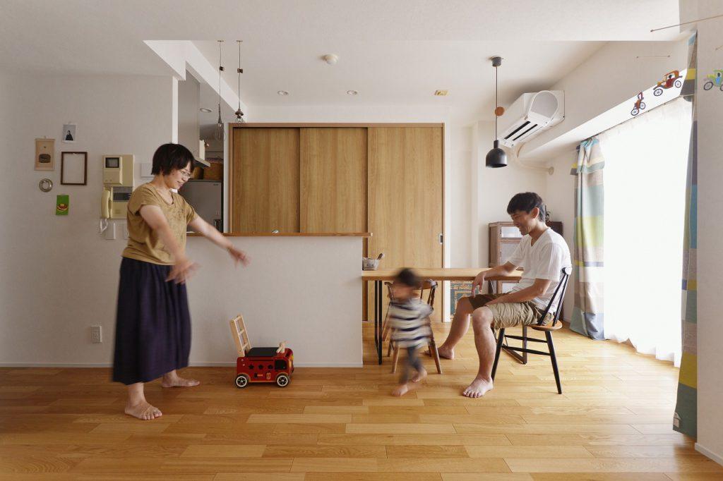 【LDK】 お子様とのふれあいが増える間取り。自分たち家族だけの家つくりが出来た満足感は何より大きい