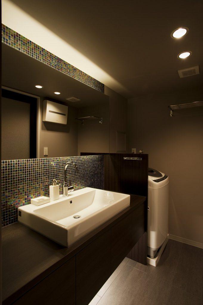 洗面所の施工事例35