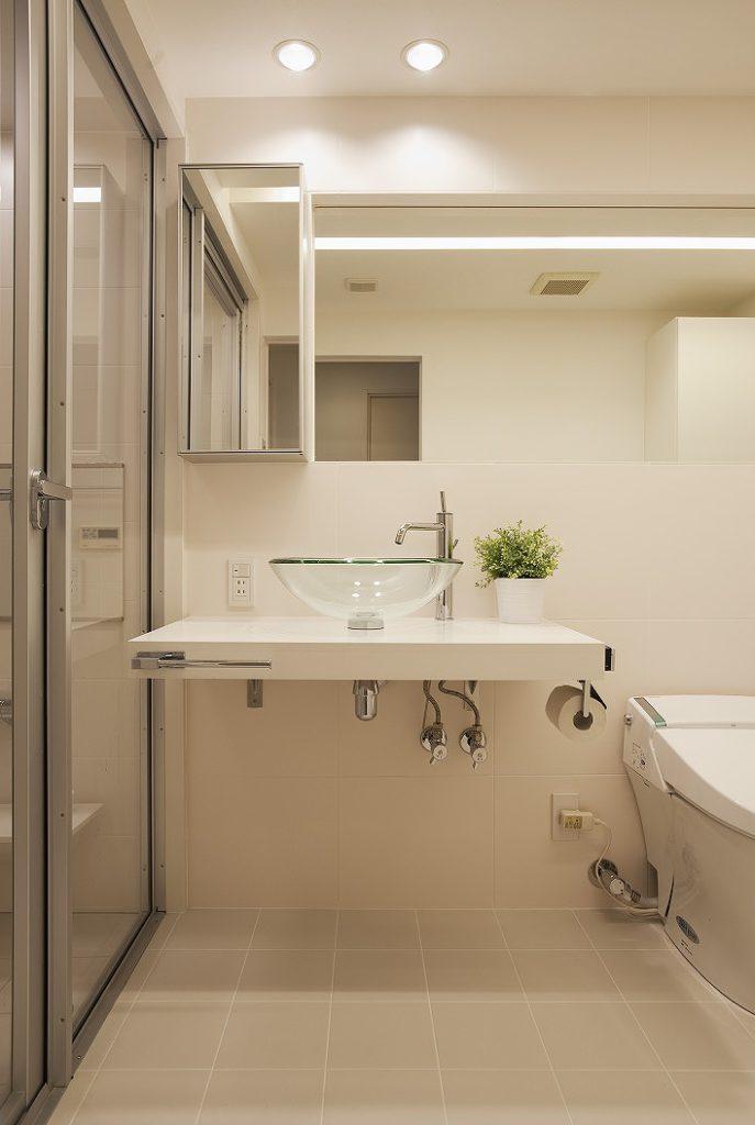 洗面所の施工事例34
