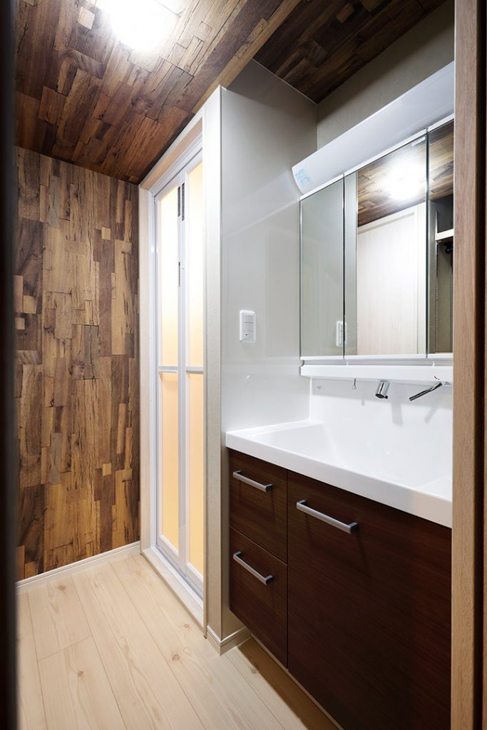洗面所の施工事例11