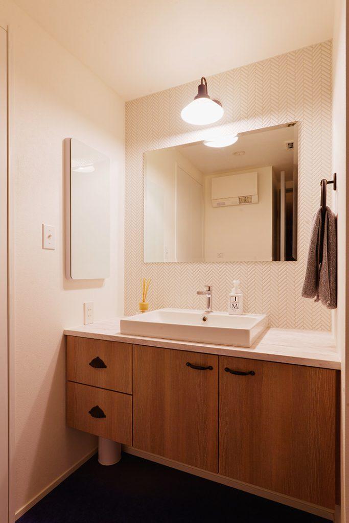 洗面所の施工事例8