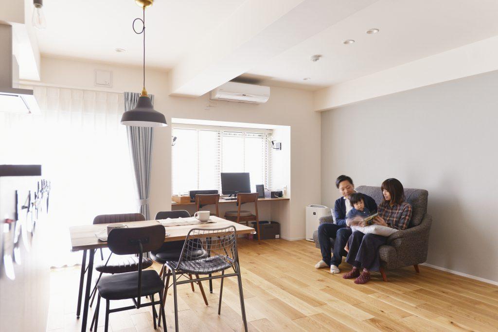 中古住宅のフルリノベで、頭の良い子が育つ家を実現する