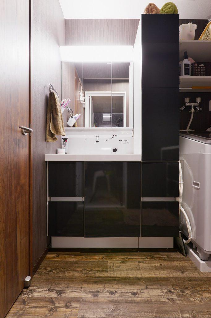 洗面所の施工事例1