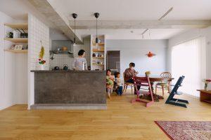 築23年マンションリノベ | 子どもの成長に合わせて、柔軟に変化できる家